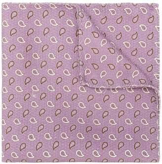 Pal Zileri paisley print handkerchief