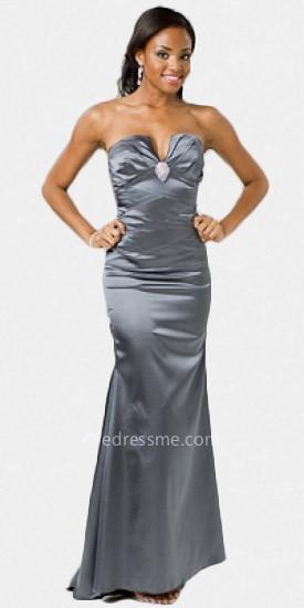 Atria Elegant Zig Zag Prom Gown