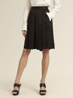 DKNY Sateen Wide-Leg Pull-On Short