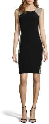 Xscape Evenings Beaded Cocktail Dress