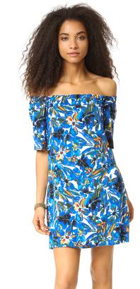Ella Moss Tahiti Garden Mini Dress $198 thestylecure.com