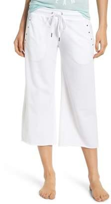 PJ Salvage Studded Crop Pajama Pants