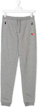 Burberry TEEN drawstring waist track pants
