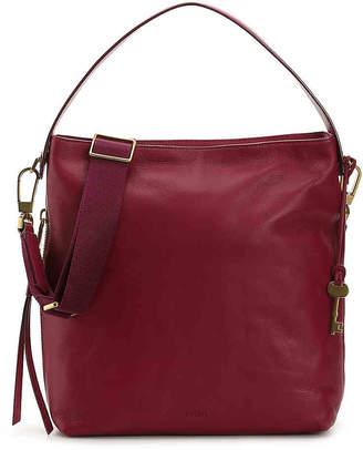 Fossil Maya Leather Hobo Bag - Women's