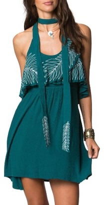 Women's O'Neill X Natalie Off Duty Valerie Embroidered Woven Dress $59.50 thestylecure.com