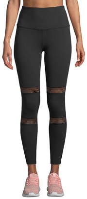 Beyond Yoga Mirage High-Waist Mesh Performance Leggings