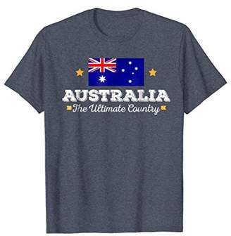 Australia The Ultimate Country National Flag T-Shirt
