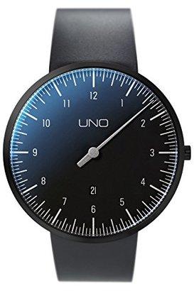 Botta-Design Uno + 44 mm MenÕs Black Edition Watch by ,ゴム製ストラップ,719012be