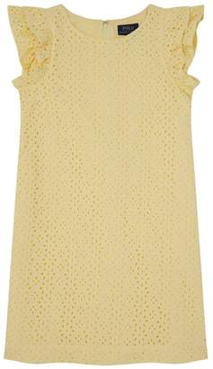Polo Ralph Lauren Frilled Sleeve Dress
