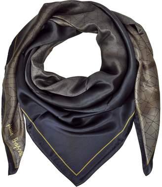 Laura Biagiotti Shaded Geometric Printed Silk Shawl