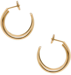 Maison Margiela Fine Twisted Earrings