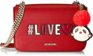 Love Moschino Borsa Pu, Women's Satchel