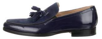 Mr. Hare Leather & Suede Dress Loafers