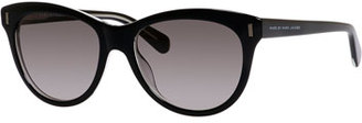 MARC by Marc Jacobs Gradient Cat-Eye Sunglasses, Black $120 thestylecure.com