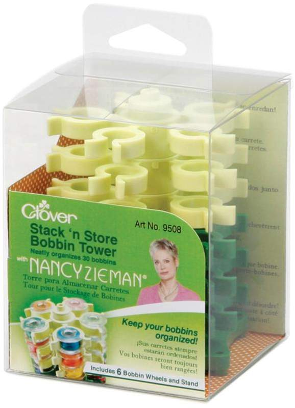 Crafts & Sewing Stack 'n Store Bobbin Tower with Nancy Zieman