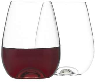 Set of 4 Bin 4735 Stemless Wine Glasses