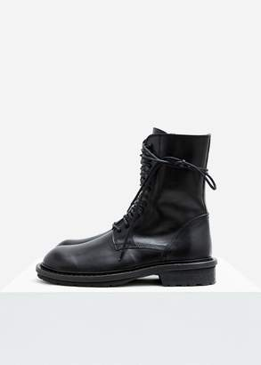 Ann Demeulemeester Lace Up Combat Boot