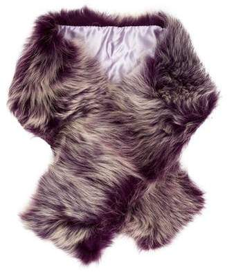 Karl Donoghue Lamb Fur Stole w/ Tags