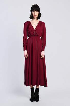 Glamorous Womens **Shirring Waist Midi Dress