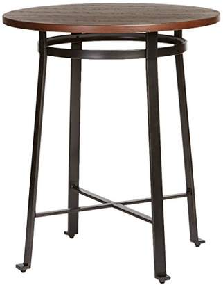 Signature Design by Ashley Ashley Furniture Signature Design - Challiman Dining Room Bar Table - Pub Height - Round - Rustic Brown
