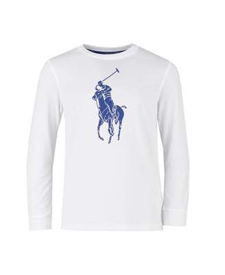 Polo Ralph Lauren Childrenswear Polo Player Long Sleeved T-shirt Colou