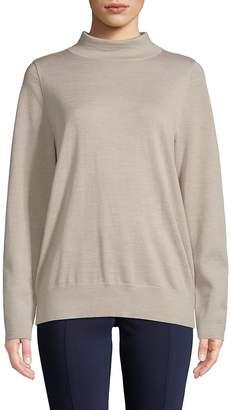 Lafayette 148 New York Women's Modern Turtleneck Wool Sweater