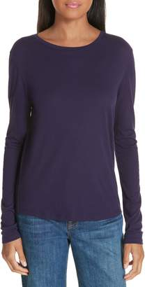 Vince Long Sleeve Pima Cotton Tee