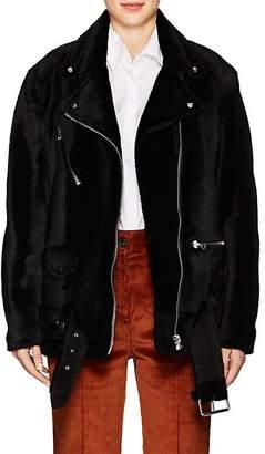 Acne Studios Women's Myrtle Shearling Moto Jacket
