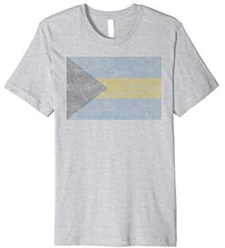 Throwback Bahamas Flag T Shirt
