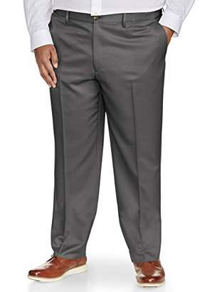 Amazon Essentials Men's Big & Tall Classic-Fit Wrinkle-Resistant Flat-Front Dress Pant
