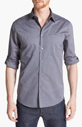 John Varvatos Slim Fit Cotton Woven Shirt