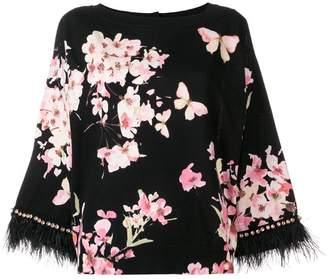Twin-Set blossom print blouse