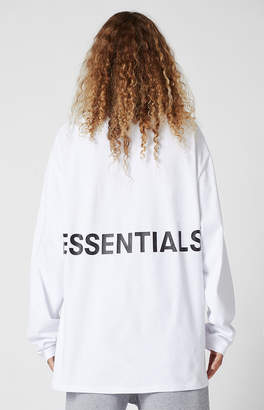 Fear Of God Fog Essentials Boxy Graphic Long Sleeve T-Shirt