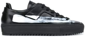 Oamc paint stripe detail sneakers