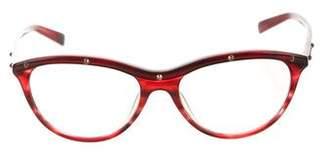 Balmain Studded Cat-Eye Sunglasses