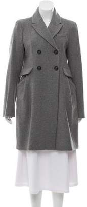 Comptoir des Cotonniers Double-Breasted Wool Coat w/ Tags