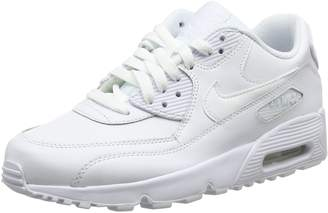 Nike Youth Air Max 90 Leather Trainers 40 EU