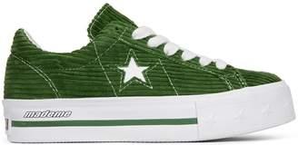 Converse One Star Platform Ox MadeMe Garden Green (W)