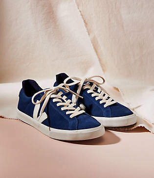 Lou & Grey Veja Esplar Midnight Pierre Sneakers