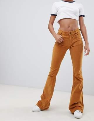 Pull&Bear Cord Flare Pants