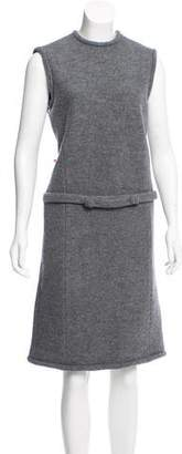 Brooks Brothers Sleeveless Wool Dress