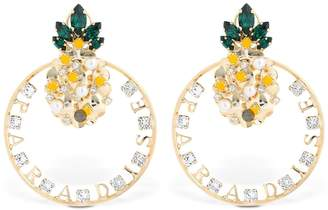 Anton Heunis Pineapple Paradise Earrings