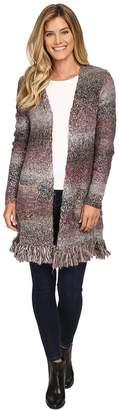 Lucky Brand Fringe Cardigan Women's Sweater