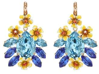 Dolce & Gabbana Crystal-embellished earrings