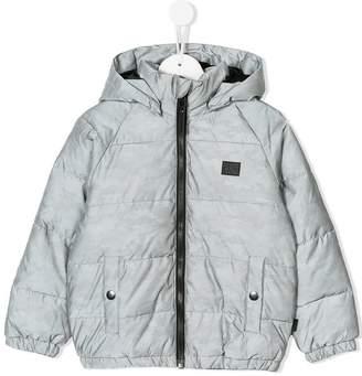 Molo Hugo reflective camo padded jacket