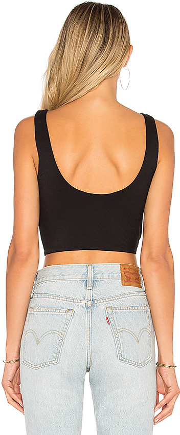 House of Harlow 1960 x REVOLVE Evie Top in Black 3