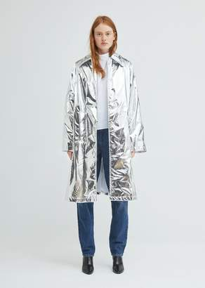 MM6 MAISON MARGIELA Silver Trench Coat
