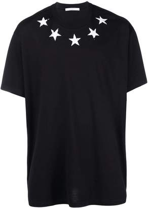 Givenchy oversized distressed star T-shirt
