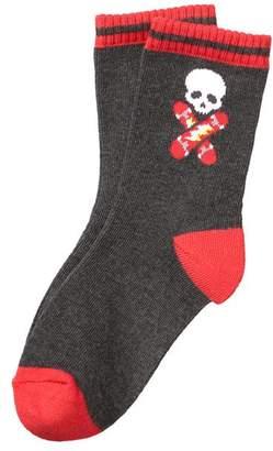 Gymboree Skater Skull Socks