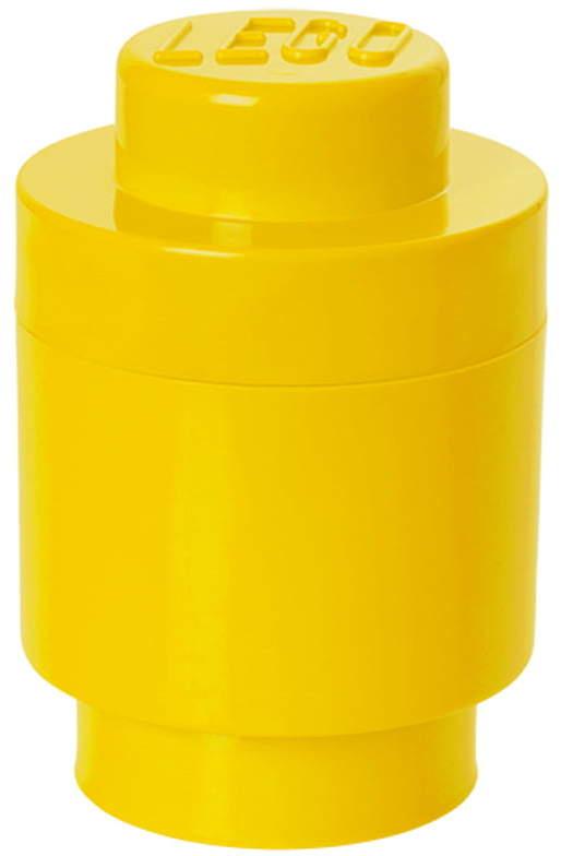 Storage Brick 1 Round, Gelb